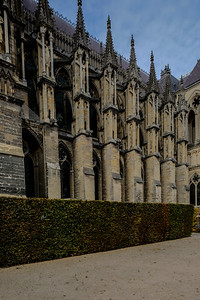 Reims Cathedrall South Flank Buttresses