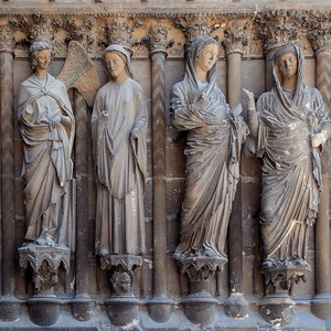 Reims Cathedral of Notre-Dame The Annunciation and Visitation