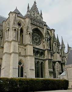 Reims Cathedral of Notre-Dame South Transept Facade
