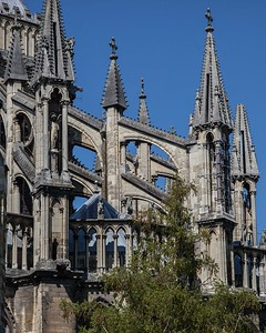 Reims Cathedral of Notre-Dame Flying Buttresses