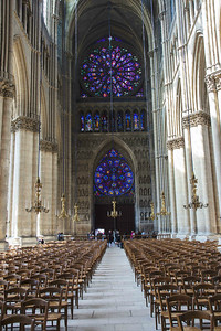 Reims Cathedral of Notre-Dame West Rose Windows