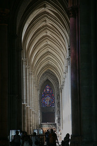 Reims Cathedral of Notre-Dame South Aisle