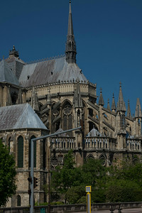 Reims Cathedral of Notre-Dame Chevet