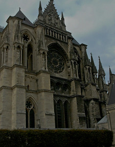 Reims Cathedral of Notre-Dame South Facade