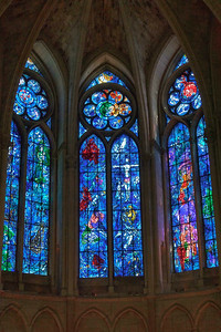 Reims Cathedral of Notre-Dame Marc Chagall Choir Windows