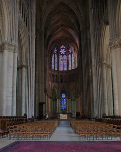 Reims Cathedral of Notre-Dame Nave and Choir