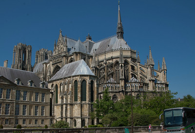 Reims Cathedral of Notre-Dame Bishop's Chapel and Chevet