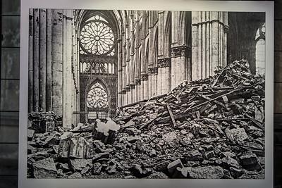 Reims Cathedral of Notre-Dame World War I Destruction