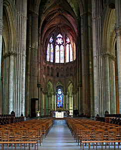 Reims Cathedral of Notre-Dame Choir