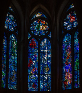 Reims Cathedral of Notre-Dame Marc Chagall Windows