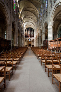 Saint-Denis Cathedral Nave