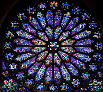 Saint-Denis Cathedral Rose Window
