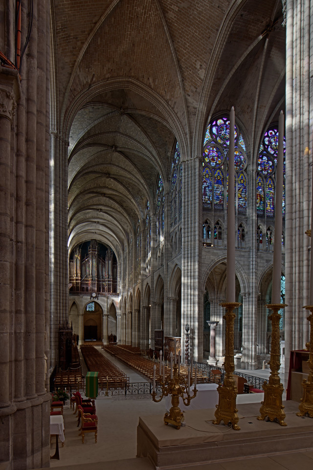 Saint-Denis Cathedral Nave and Crossing