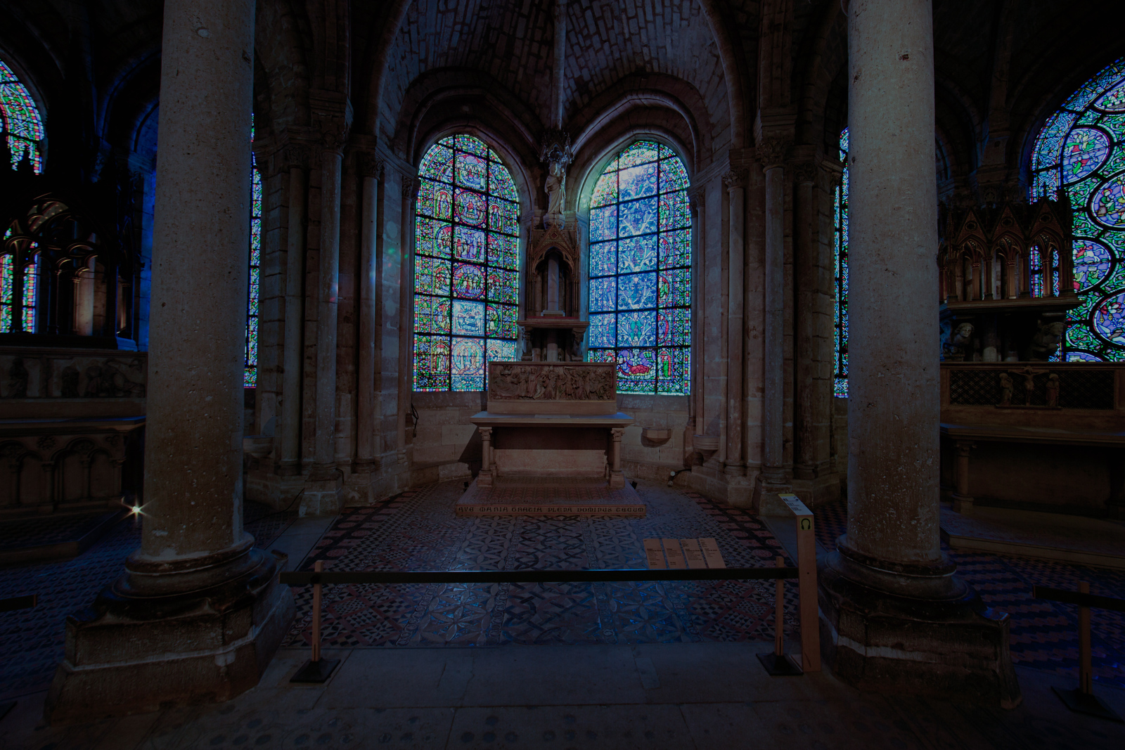 Saint-Denis Cathedral Ambulatory Chapel