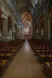 Paris, Saint-Denis Cathedral Nave and Choir