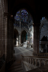 Saint-Denis Cathedral Crossing Arm and Royal Tomb