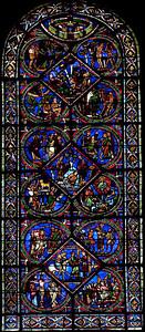 Sens, Saint-Etienne Cathedral Good Samaritan Window