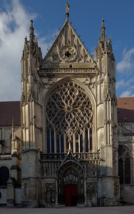 Sens Cathedral of Saint-Etienne South Facade