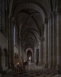 Sens Cathedral of Saint-Etienne North Aisle