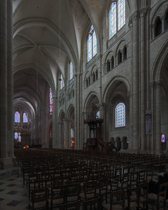Sens Cathedral of Saint-Etienne Nave Elevation