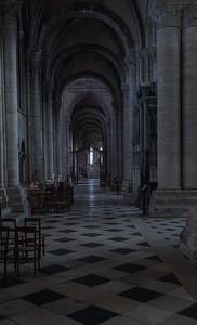 Sens Cathedral of Saint-Etienne Aisle
