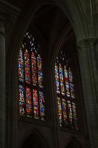Sens Cathedral of Saint-Etienne Transept Windows (16C)