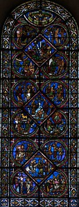 Sens Cathedral of Saint-Etienne, The Good Samaritan Window