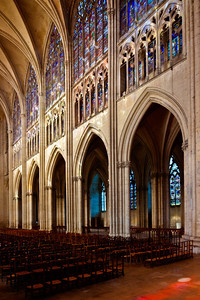 Troyes Saint Peter and Saint Paul Cathedral Nave Elevation