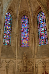 Troyes Saint Peter and Saint Paul Cathedral Axial Chapel Windows
