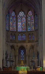 Troyes Cathedral Altar and  Choir