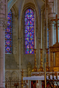 Troyes Saint Peter and Saint Paul Cathedral Axial Chapel Window