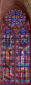 Troyes Saint Peter and Saint Paul Cathedral Choir Clerestory Window