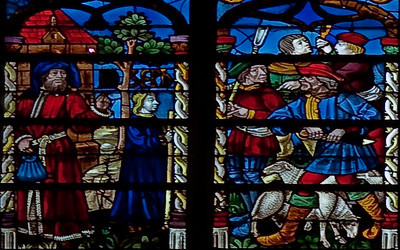 Troyes Saint Peter and Saint Paul Cathedral Prodigal Son Window