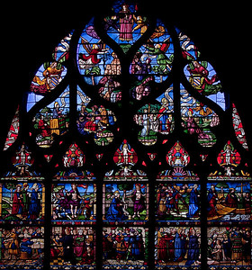 Troyes - Church of the Madeleine - The Madeline Window