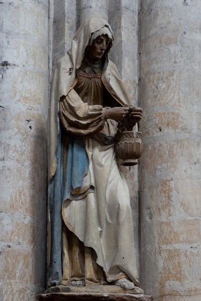 Troyes Sainte-Madeleine Church Saint Martha