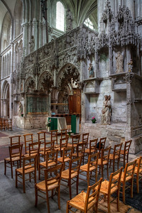 Troyes Sainte-Madeleine Church Choir Screen