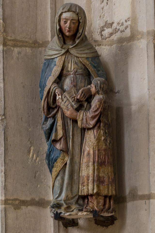 Troyes Saint-Urbain Basilica Education of The Virgin