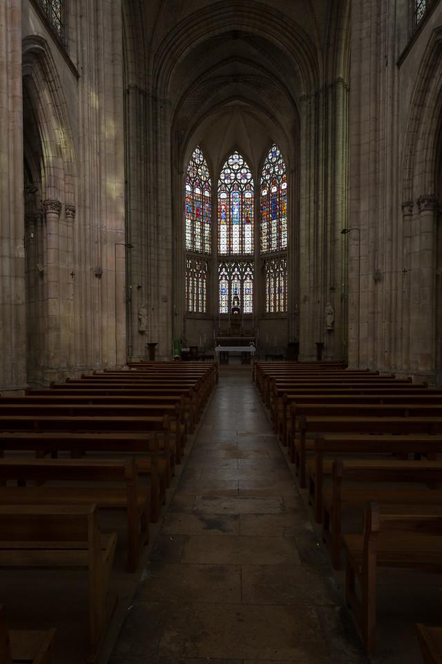 Troyes Saint-Urbain Basilica Nave and Choir