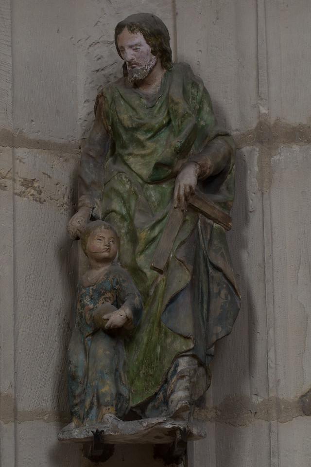 Troyes Saint-Urbain Basilica Joseph and Jesus