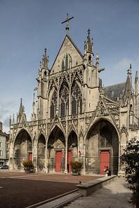 Troyes Saint-Urbain Basilica Facade