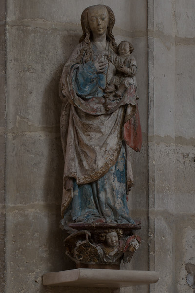 Troyes Saint-Urbain Basilica Virgin and Child