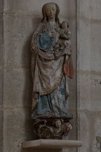 Troyes Saint-Urbain Basilica Virgin and Child