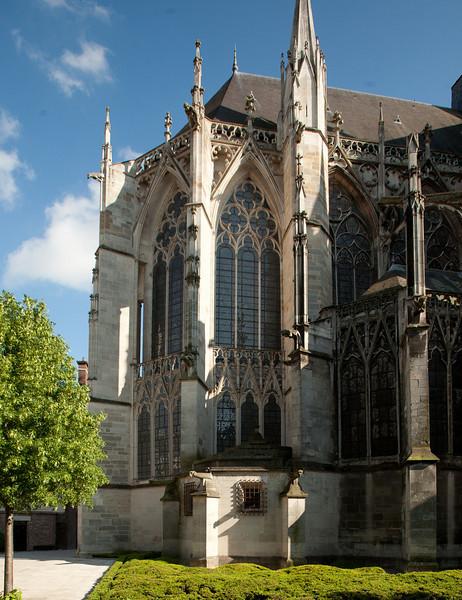 Troyes Saint-Urbain Basilica Chevet
