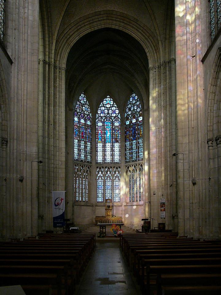 Troyes Saint-Urbain Basilica Choir