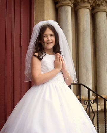 Catherine {First Communion}