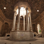 //www.dreamstime.com/stock-photography-ancient-roman-bath-girona-spain-image28545512