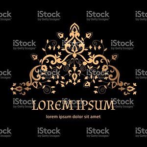 Royal luxury background vector. Vintage arabesque golden border pattern with floral motif. Victorian design for wedding invitation, anniversary card, spa beauty logo, boutique or bridal salon emblem.
