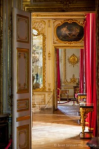 Hallway and chambers at Chateau de Versailles, France