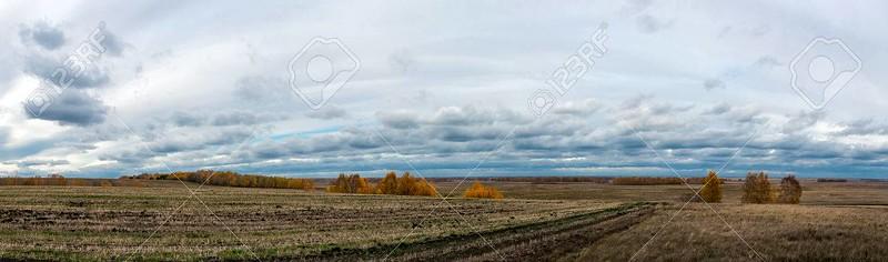 Sad autumn weather