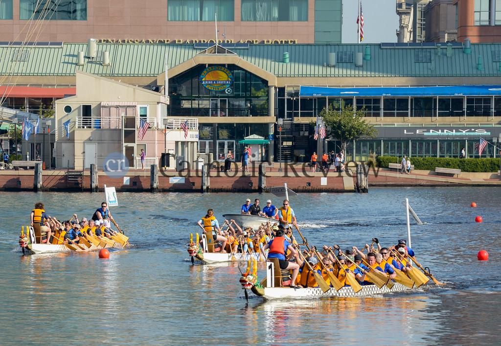 Catholic Charities Dragon Boat Races 2016